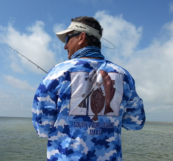 High Performance Fishing Shirt for Avid Fishermen feat. Texas Slam