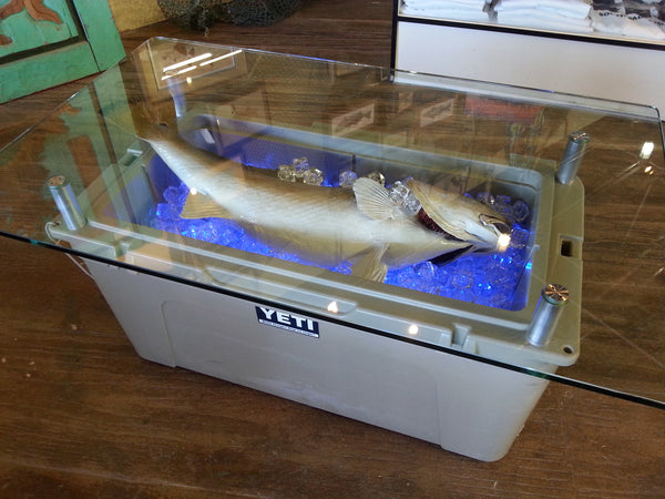 Yeti Cooler and Redfish Coffee Table