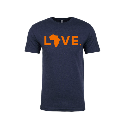 Gameday LOVE.- Navy & Orange