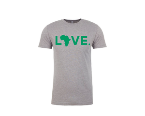 Spirit Tee Gray & Green