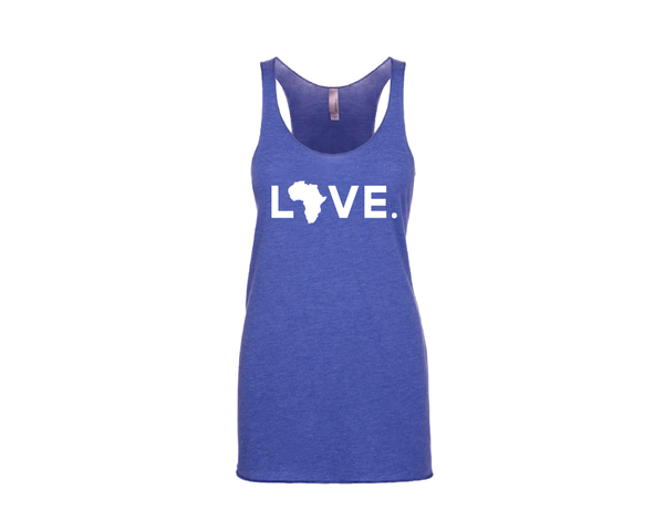 Women's Tank Royal Blue