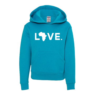 2020 Youth Jerzees Hoodie Turquoise