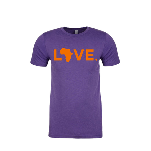 Gameday LOVE.- Purple & Orange