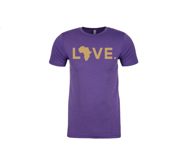 Spirit Tee Purple & Gold (Adult & Youth)
