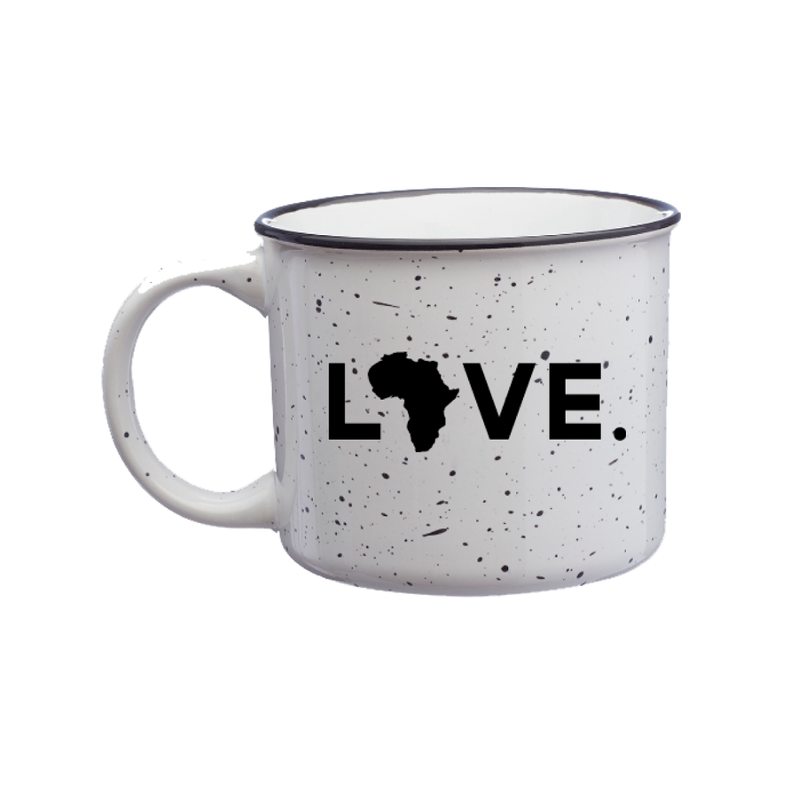Campfire Mug White- Love Him, Love them