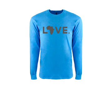 Adult Long Sleeve Ocean Tee