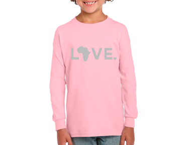 2020 Youth V-Day Long Sleeve Pink