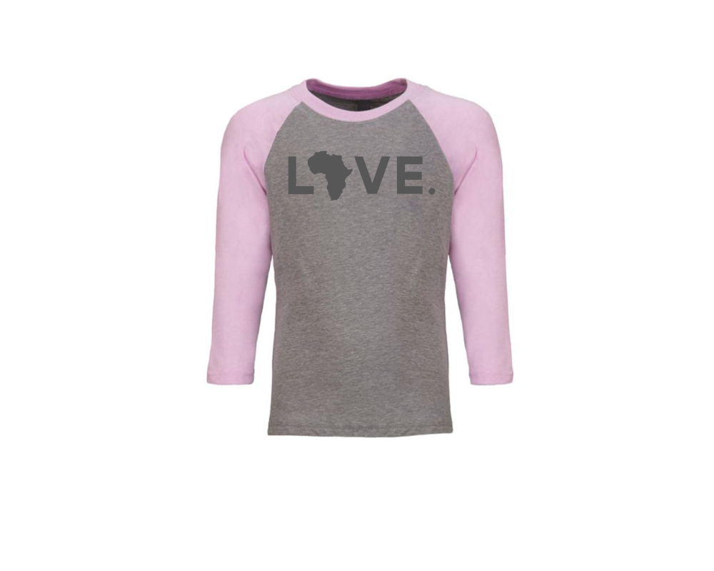 Youth Baseball Tee- Lilac