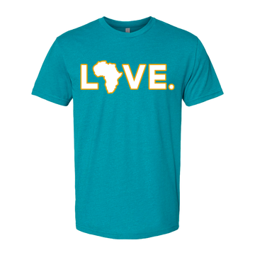 2021 Adult Teal & Gold Tee- Preorder