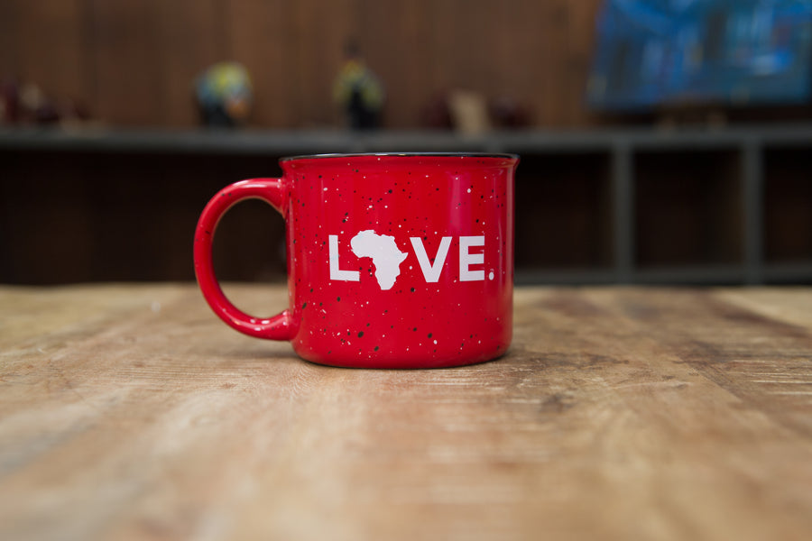 2021 Campfire Mug Red- LIVE2540 Valentine's Collection