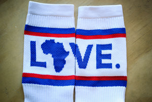 Socks Red, White, & Blue
