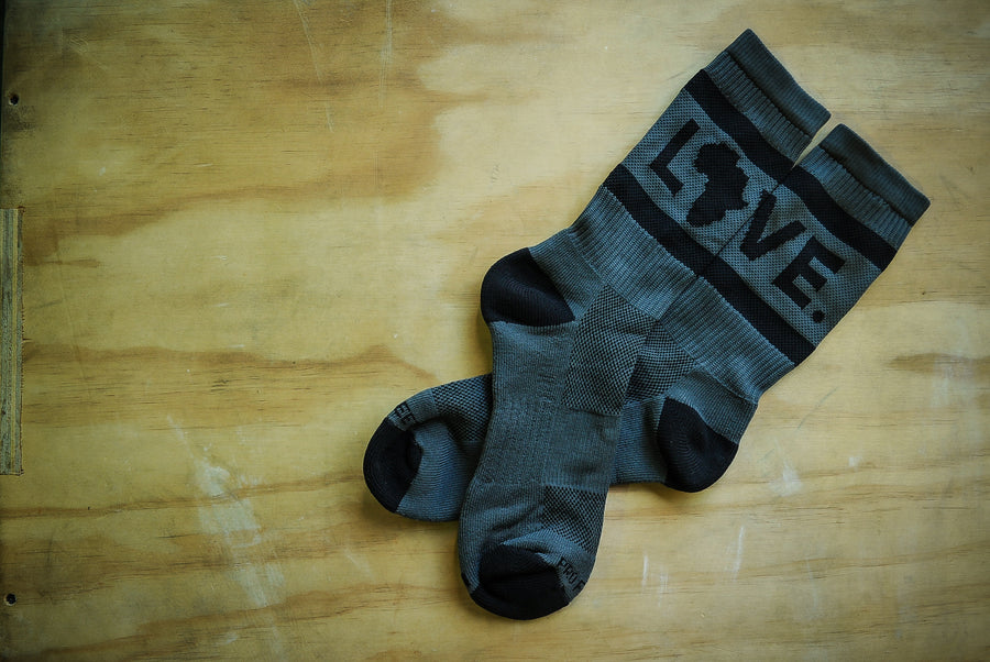 Athlete Socks Graphite