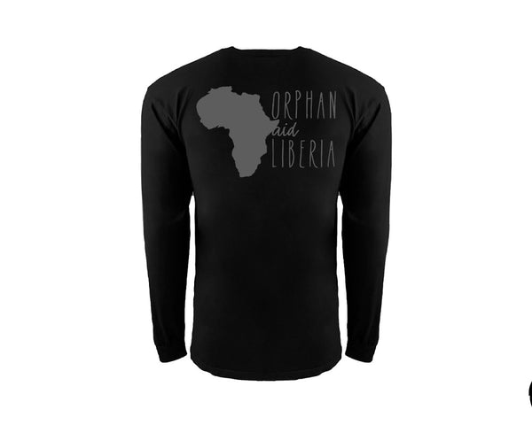 Adult Black Long Sleeve