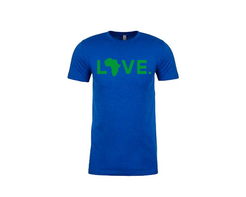 Youth Tee Royal Blue & Green