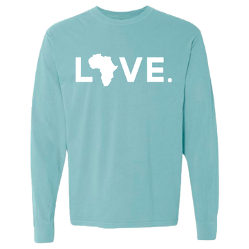 2020 Adult Comfort Long Sleeve Chalky Mint & White