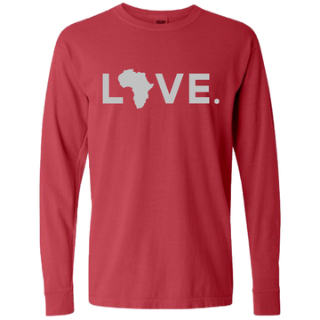 2020 Adult Comfort Long Sleeve Crimson & Gray