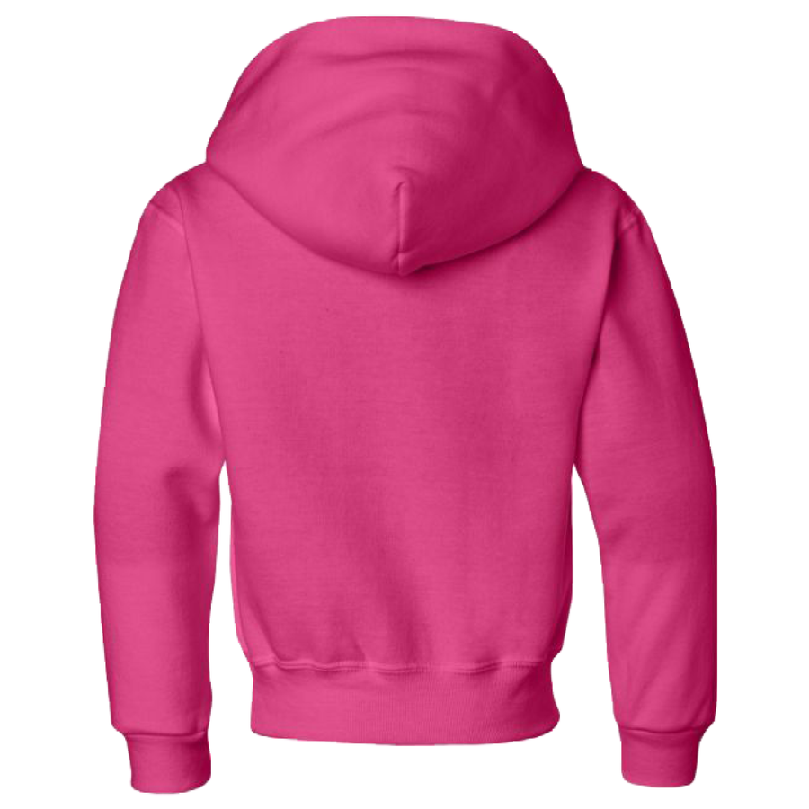 2020 Youth Jerzees Hoodie Cyber Pink