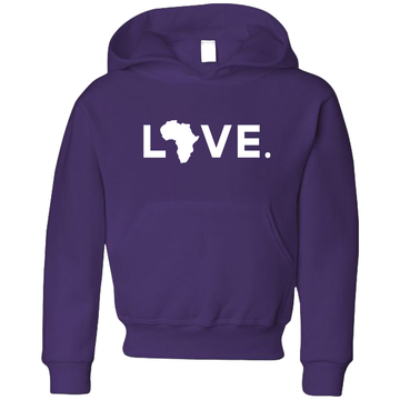 2020 Youth Jerzees Hoodie Deep Purple
