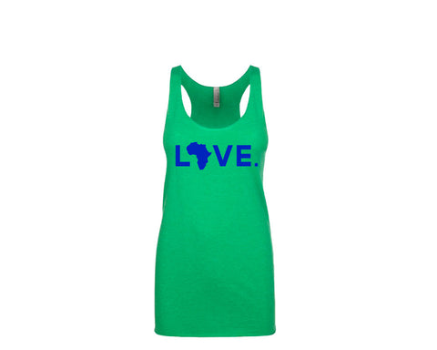Women's Tank Envy Green