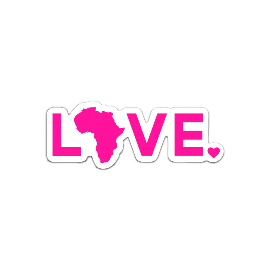 2021 Sticker- Pink LOVE. - 6
