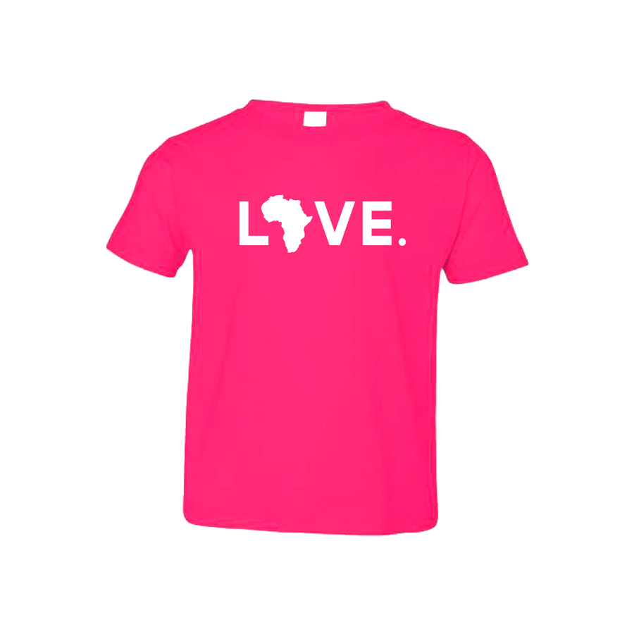 Toddler Tee Hot Pink