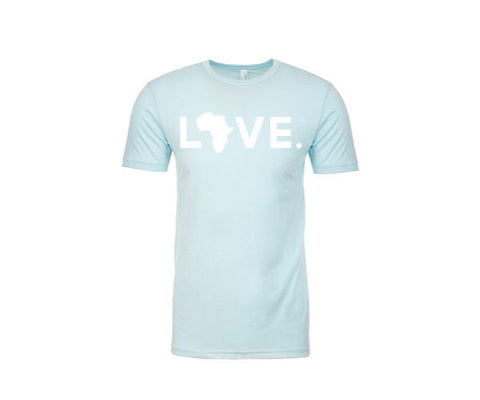 Adult Tee Ice Blue