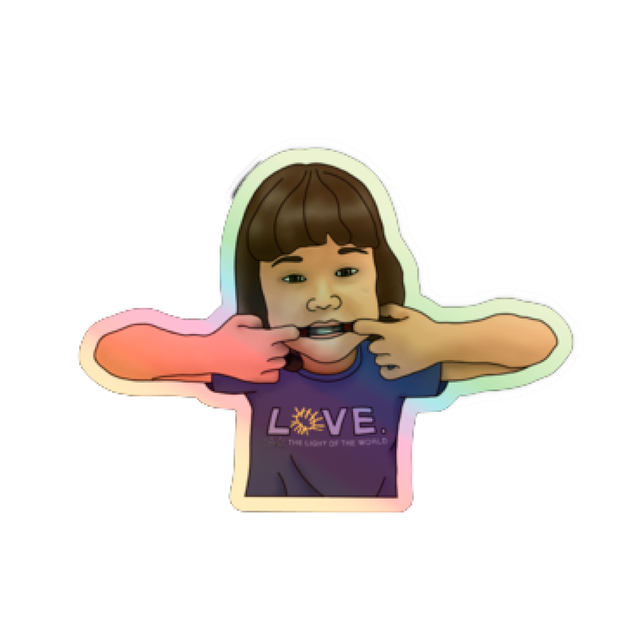 Sticker Holographic Mia's Fund- 3