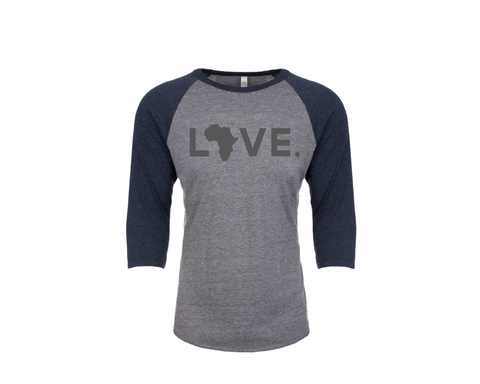 Baseball Adult 3/4 Sleeve Navy
