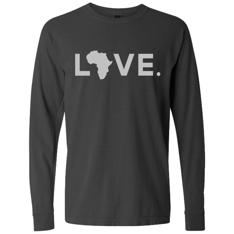 2020 Adult Comfort Long Sleeve Pepper & Gray