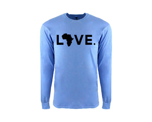 Adult Peri Blue Long Sleeve