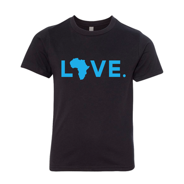 2021 Youth Black & Turquoise Tee