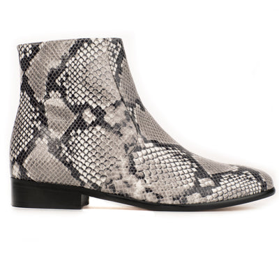 Charli | Natural Python-Effect Ankle Boot-women's shoes-AERA-US 5 / IT 35-allTRUEist