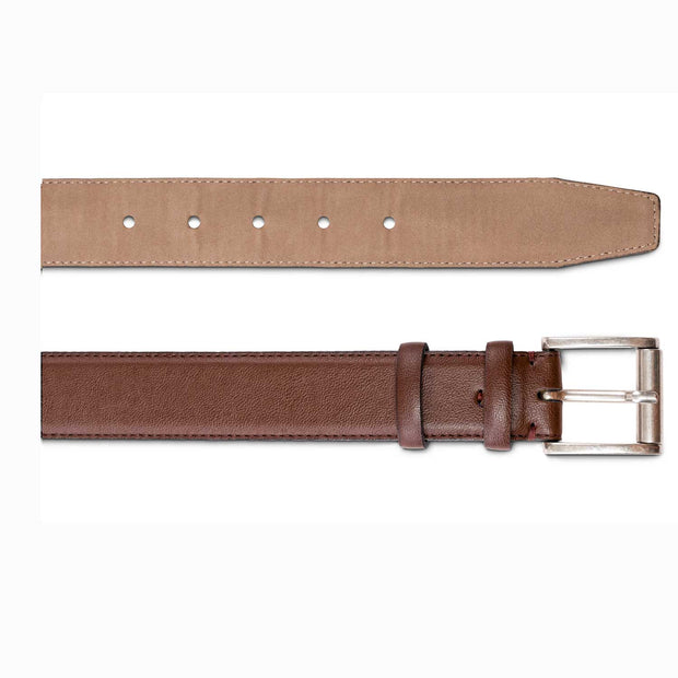 Taylor - Square Buckle Belt | Brown