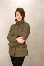 Melrose - Quilted Coat | Khaki Green