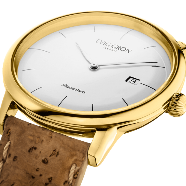 Planetarium Day Gold | Cork-Watch-Evig Grön-allTRUEist