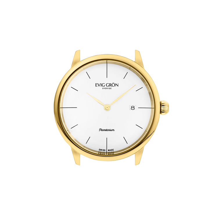 Planetarium Day Gold | Light Brown-Watch-Evig Grön-allTRUEist