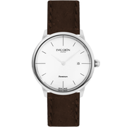 Planetarium Silver Day | Dark Brown-Watch-Evig Grön-allTRUEist