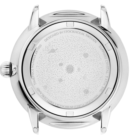 Planetarium Silver Day | Striped Cork-Watch-Evig Grön-allTRUEist