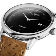 Planetarium Silver Night | Cork-Watch-Evig Grön-allTRUEist