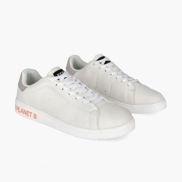 Sandford 'Planet B' Fabric Sneakers - White | Men's