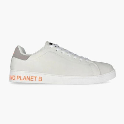 Sandford 'Planet B' Fabric Sneakers - White | Men's-Men's Shoes-Ecoalf-41 EU | 8 US | 264 mm-allTRUEist