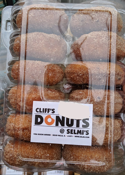 Cliff's Donuts by Selmi's - Egg Nog Donuts