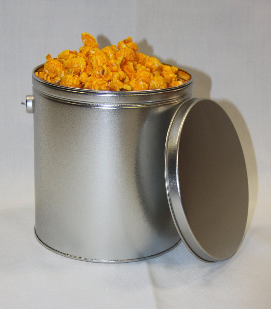 Woody's Popcorn - Caramel & Cheddar Mixed Popcorn  - 1 Gallon Gift Tin