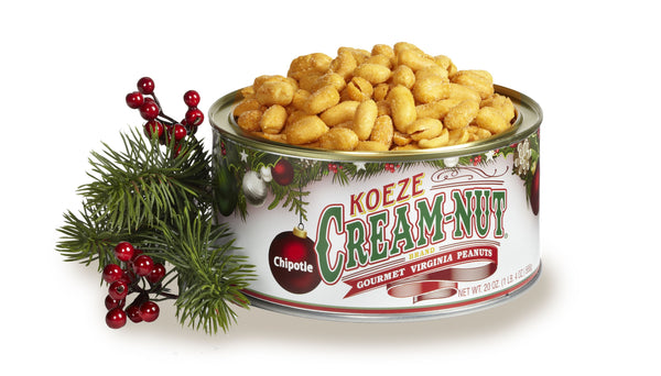 Koeze's Chipotle Peanuts (20 oz. Canister) #31044