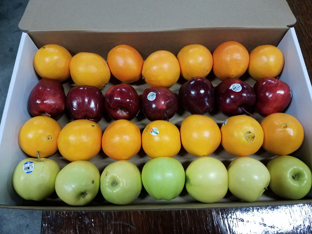 Small Apple and Orange Gift Box