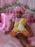 Matching Bonnet and Nightgown