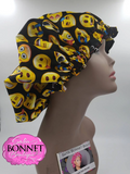 Emoji Satin Bonnet