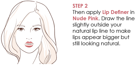 how-to-create-fuller-looking-lips-step-2