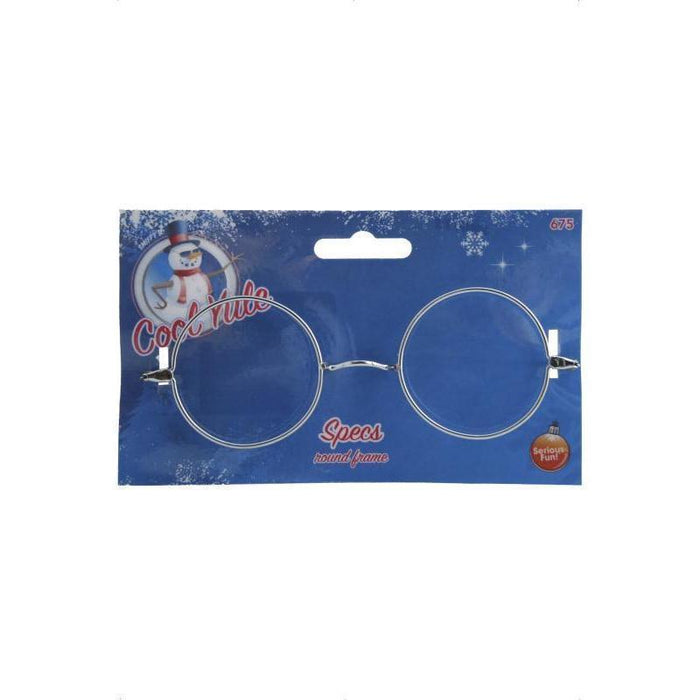 Buy Round Silver Glasses Online at Cosmetics4uOnline.co.uk