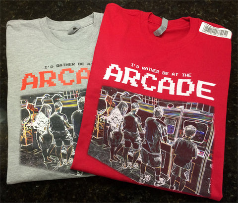 I'd Rather Be In The Arcade - T-Shirt